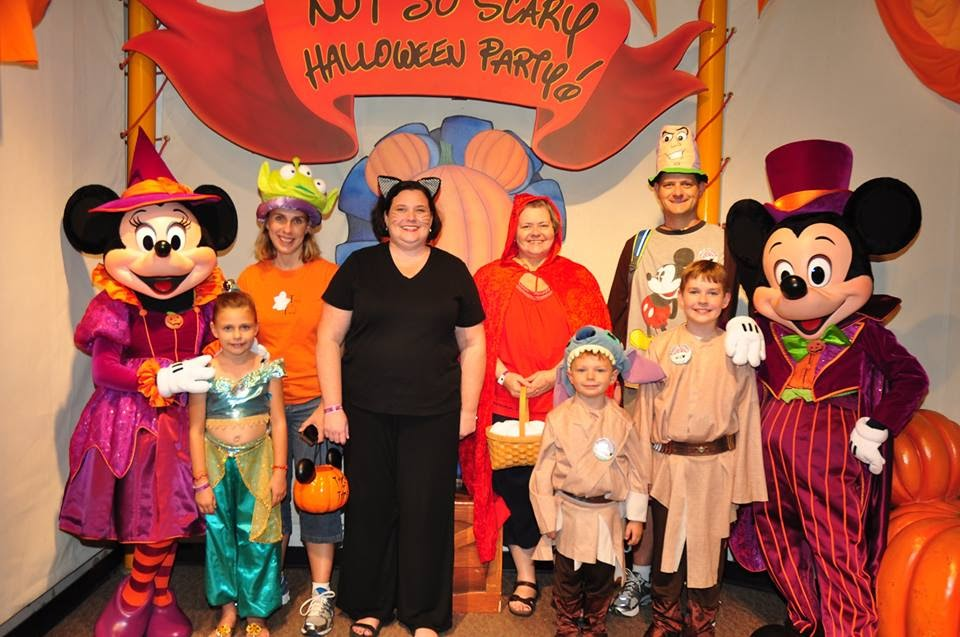Dressing up is half the fun! Be it matching t-shirts, fun mouse ears with a Halloween twist, Disney bounding, or traditional costumes you'll add excitement to your evening as you and those around you celebrate the season.
