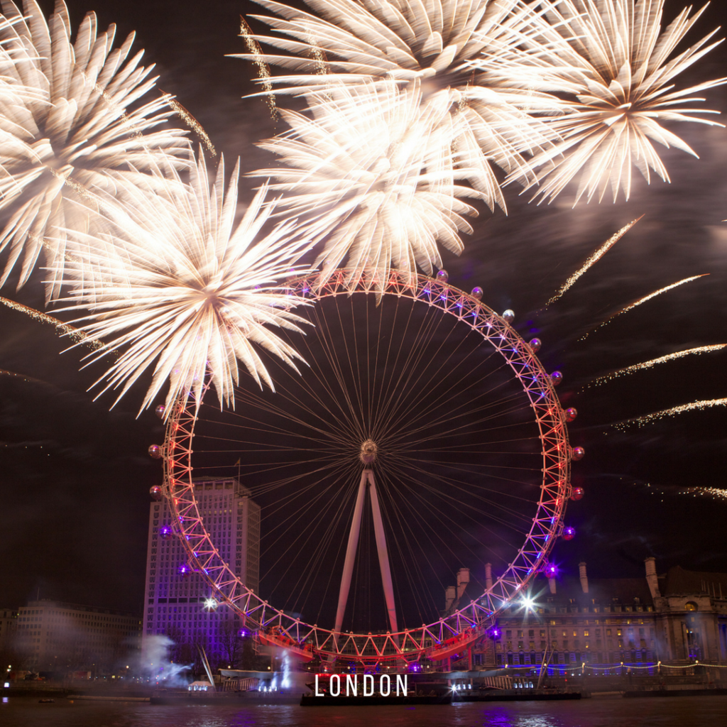 London's New Year's Eve Fireworks - Embrace The Magic Travel