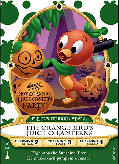 2019 Mickey/'s Not So Scary Halloween Party-Sorcerers Of The Magic Kingdom Card
